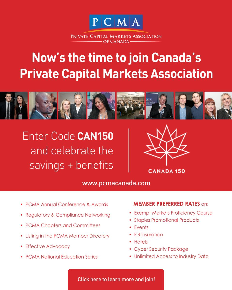 Last chance to avail Canada150 PCMA membership promo