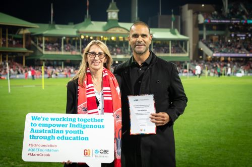 QBE supports indigenous youth education