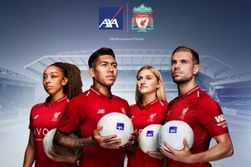 AXA named global insurance partner of Liverpool FC