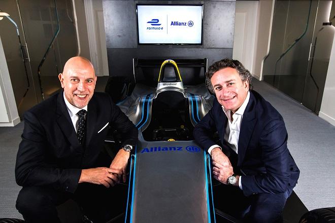Allianz announces Formula E partnership