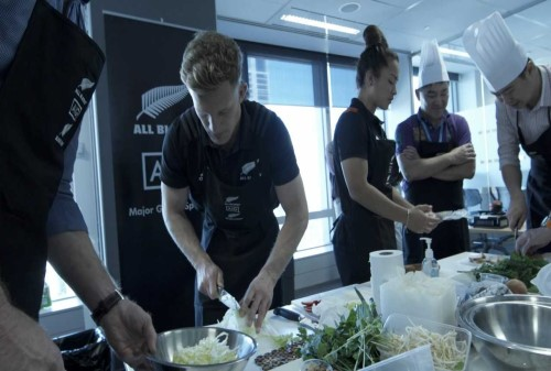 All Blacks cook up a storm with AIG