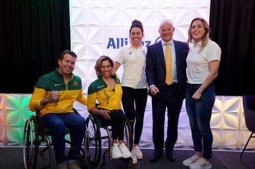 """Allianz Australia celebrates """"One year to Tokyo"""" event"""