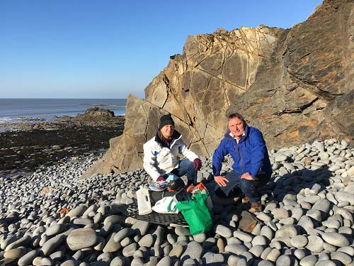 Beach clean initiative gets funding boost from Boshers and Ecclesiastical