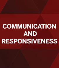 Communication and Responsiveness