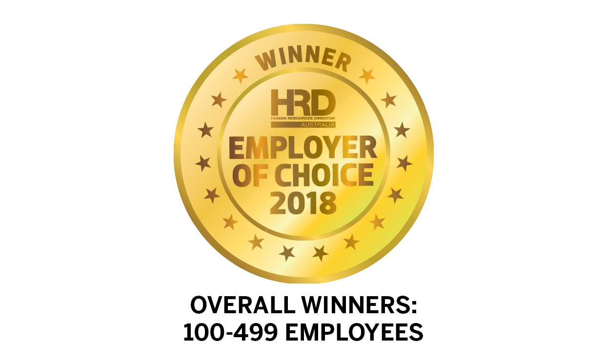 Overall Winners: 100-499 Employees