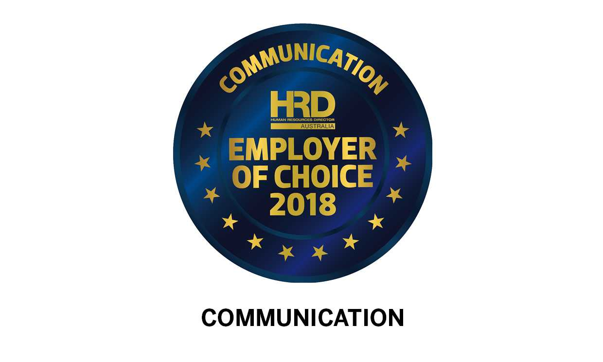 Employer of Choice 2018 | HRD Australia