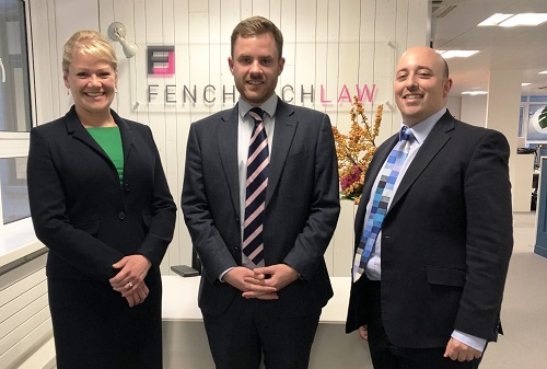 Fenchurch Law announces triple hire
