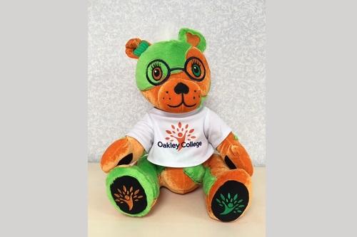 Meet Frankie the bear
