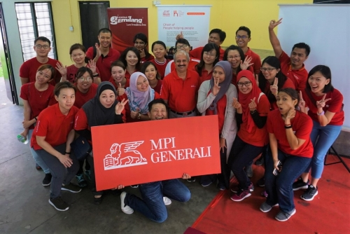 Generali reaches out to vulnerable families in Malaysia