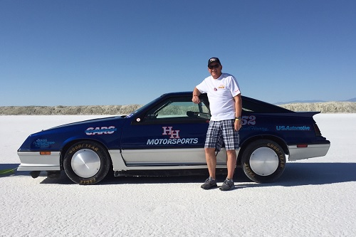 Can this insurance exec break the landspeed record?