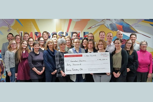 Gore Mutual generously grants GivingTuesday gifts