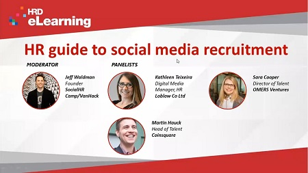 HR guide to social media recruitment