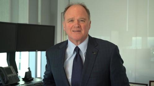Mike McGavick, XL Catlin, 'insurance is built on endurance'