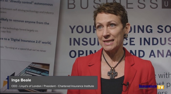 Inga Beale on the number one selling point of insurance