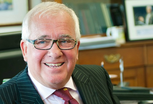 Chairman John Moore and his love affair with insurance provider Thomas Carroll