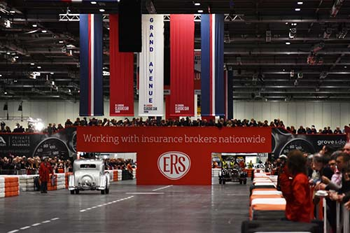 Behind the scenes: Insuring the London Classic Car Show