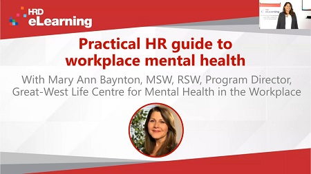 Practical HR guide to workplace mental health