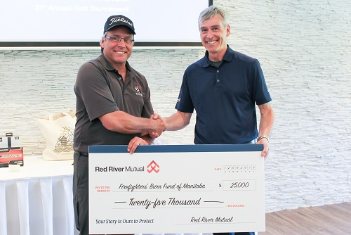 Red River Mutual raises thousands of dollars for burn survivors