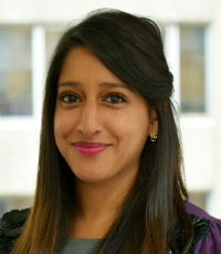 Reena Purba, Senior Underwriter - Financial Lines, Chubb