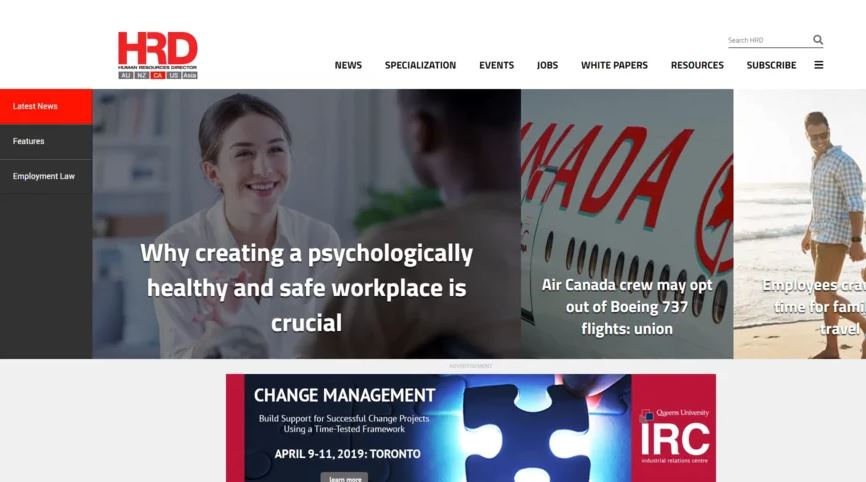 HRD launches game-changing website redesign