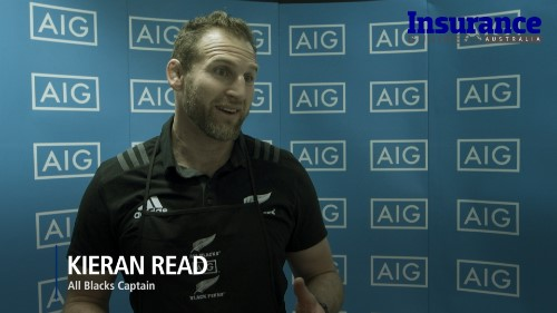 All Blacks & Black Ferns cook up a storm with AIG