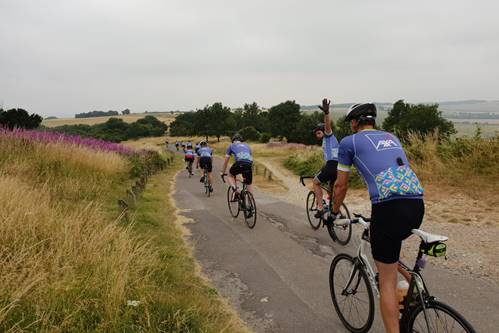AXA aims to raise £5,000 in charity bike ride