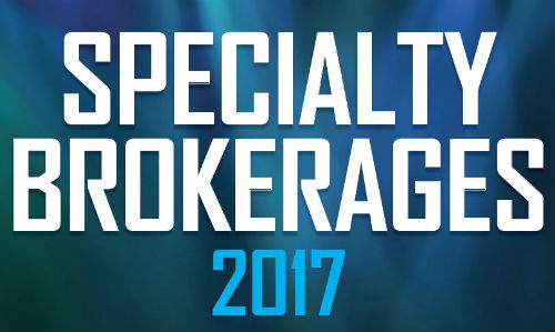 UK Specialty Brokerages 2017