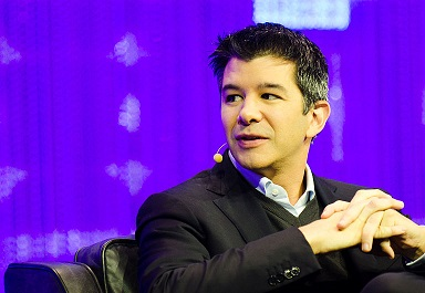 CEO and founder of Uber to move on