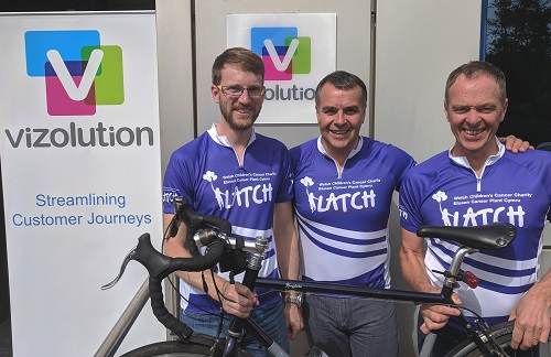 Cycling for charity: Team to travel on bike for four days