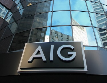 AIG notes underwriting income loss in general insurance