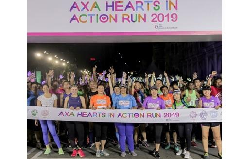 AXA Malaysia fun run benefits five causes