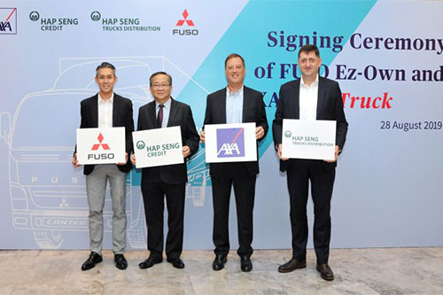 AXA Malaysia to provide telematics-based commercial truck cover
