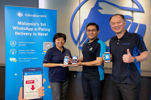 Malaysian insurer enables policy delivery through WhatsApp