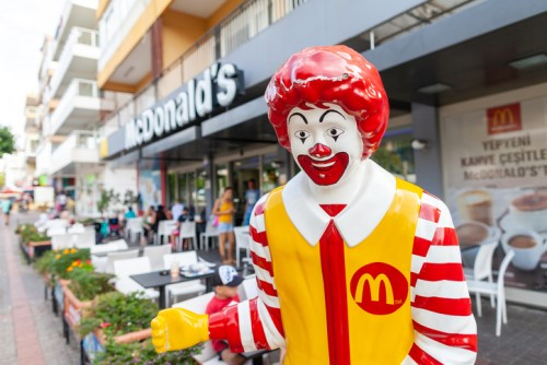 McDonald's workers protest against workplace violence