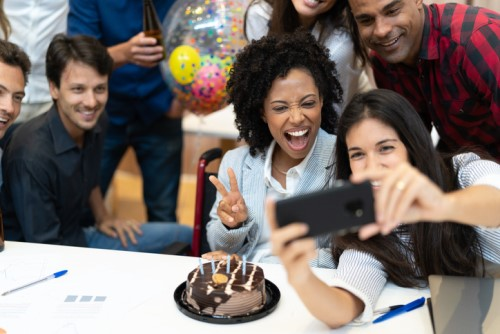 It's party time: How does your company compare?