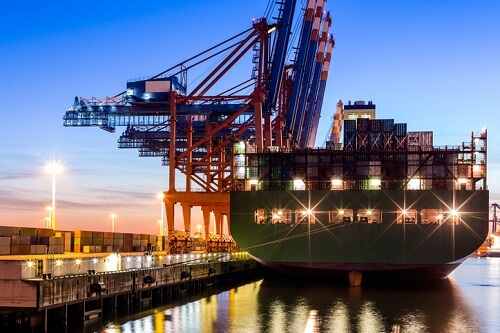 Just-in-time shipping supply chain needs