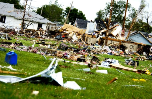 Insurers pick up the pieces after tornado strikes