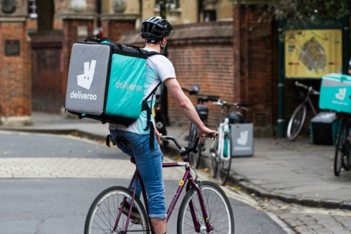 Deliveroo riders on a mission to find missing persons