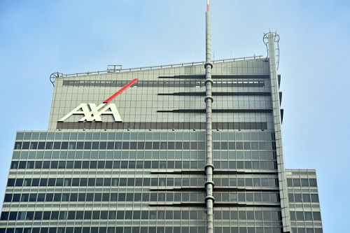 AXA reports first quarter numbers