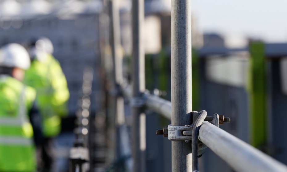 Young worker dies following scaffolding collapse