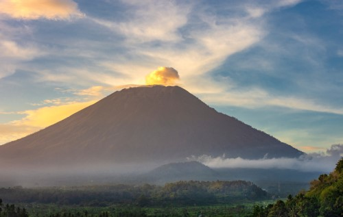 Cover-More's new Cancel-For-Any-Reason benefit provides cover for Bali's Mt Agung