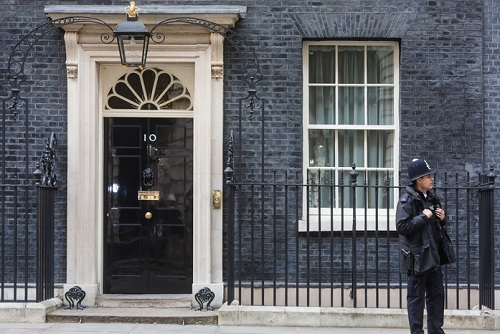 Prime Minister Theresa May announces her resignation