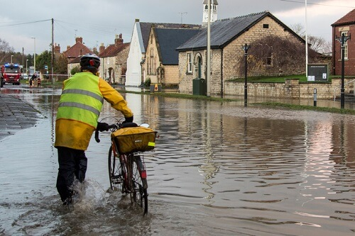 Revealed: Most flood-prone cities in the UK