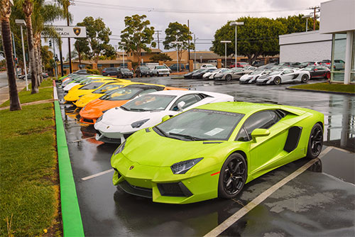 Revved up auto insurance for supercars