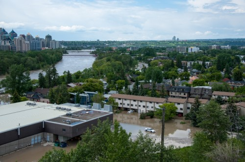 Is Canada exacerbating its flood problem?