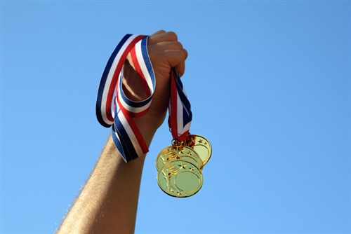 Who insures our US Olympic athletes' medals?