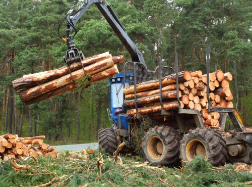 Logging truck insurance is hard to come by