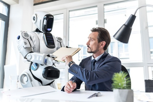 Majority 'uncomfortable' with robot colleague