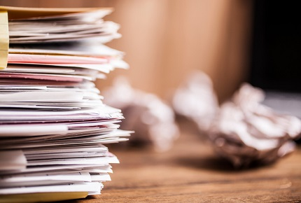 Time for insurance to ditch paper - there