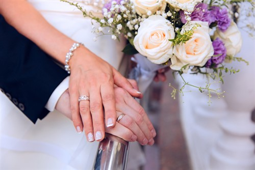 Daughters of retired insurance broker tried to block wedding - report